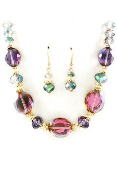 Vitrail Crystal Riva Necklace