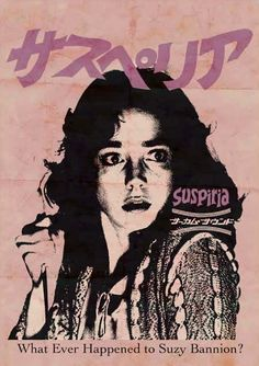 insidedemoneye:  Suspiria  Dario Argento 1977 Japanese poster