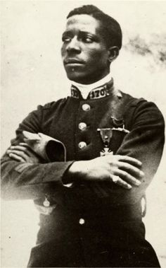 Eugene Jacques Bullard, the first African-American combat pilot, was one of 200 Americans who flew for France in World War I. Nicknamed 'the black swallow of death' he survived the war and died in 1961 aged 66.