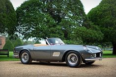 1961 Ferrari 250 California Spyder SWB Competizione - 2014 Hampton Court Concours of Elegance | Flickr - Photo Sharing!