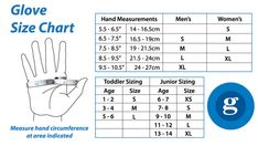 glove sizing chart pdf - Google Search