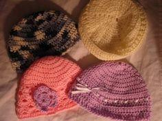 Easy Crochet hats