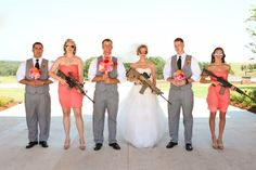 Marry me or Else!! Bridesmaids holding Groomsman hostage...Love, Love, Love!!