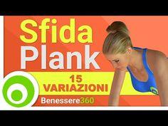 Sfida Plank 15 Variazioni per Tonificare - YouTube