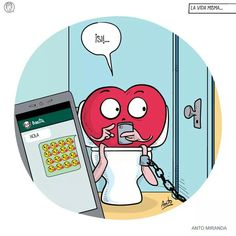 Jajaja Heart Vs Brain, Heart And Mind, Girl Emoji, Bad Romance, Inspirational Phrases, Funny Lists, Laugh Out Loud, Funny Quotes, Funny Pictures