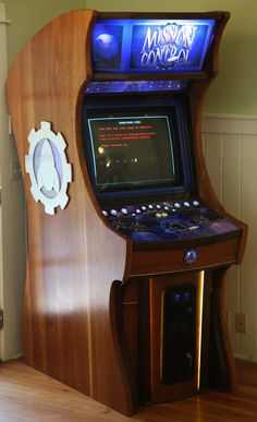 Downloadable plans for creating a full size arcade cabinet!   DIY ...