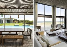 La Boyita by Estudio Martin Gomez Arquitectos was built as a summer house in a very upmarket beach locale in Uruguay. The clients requested a relaxed modernist style pavilion with separate zones for bedrooms and entertaining | thehome-journal.com