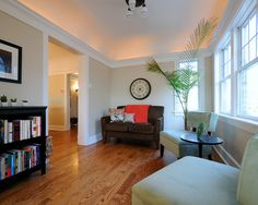 Maybe I can talk him into white trim?  Oak Trim Design, Pictures, Remodel, Decor and Ideas - page 19
