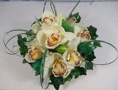 Silk Bouquets Orchid Table Decoration