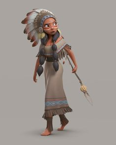 Native American by Jean Marcel Loredo de Oliveira 1600px X 2000px