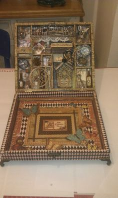 Altered Box by Anne-Marie Martin