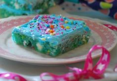 Cotton Candy Bars