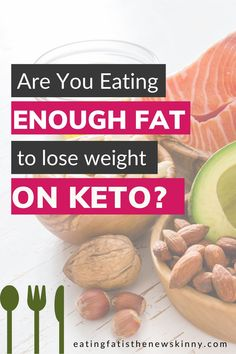 Keto is a high fat diet, which means if you're not eating enough fat, you may end up in a weight loss plateau! Are you eating enough healthy fats to lose weight on a keto diet? If you're following a keto diet for beginners, eating enough healthy fats is important when it comes to sustainable weight loss on keto. I lost 100+ lbs + I've been able to stick to keto by eating more healthy fats. Check out this keto weight loss blog that will show you how to eat more to lose weight on a low carb diet. Weight Loss Blogs, Weight Loss Before, High Fat Diet, Low Carb Diet, Healthy Fats, Healthy Weight Loss, Keto Plateau, Strict Diet, Did You Eat