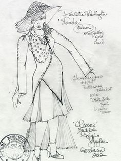 Costume design by Karen Perry. Goodman Theatre, Free Day, Costume Design, Behind The Scenes, Sketches, Costumes, Crowns, Opera, Blog