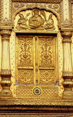 Golden Door/Portal where? >>>>Thank you yeh-hai-meri-kahaani, for sending me info on the photo: It is the Golden Temple in Amritsar, India Door Hinges, Door Knockers, Door Knobs, Entry Gates, Entry Doors, Portal, Harmandir Sahib, Golden Temple Amritsar, Templer