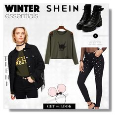 """Shein 102"" by zerina913 ❤ liked on Polyvore featuring shein"