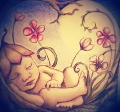 Baby drawing by Hatsaflatsa illustraties Belly Painting, Drawings, Inspiration, Journal, Art, Biblical Inspiration, Art Background, Kunst, Sketches