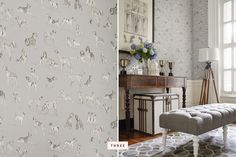 Trends: Dog Wallpaper Decor | Pretty Fluffy