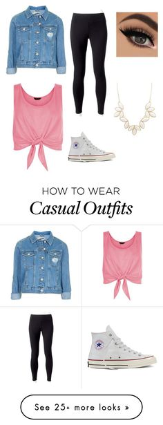 """""""Cute & Casual"""" by sheaswenson29 on Polyvore featuring Topshop, New Look…"""