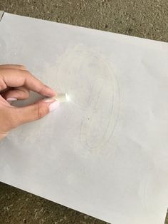 Learn how to transfer images with chalk