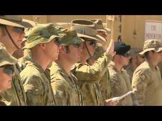 5 Aussie Soldiers Return Home - YouTube