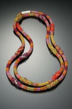 Summer Way -idea for bead crochet