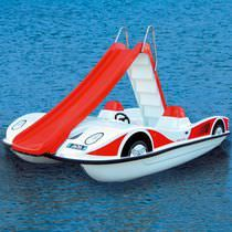5-seater pedal boat / with slide