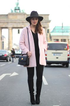 Berlin Fashion Week 2014 Street Style Trends | Rosa | Josieloves