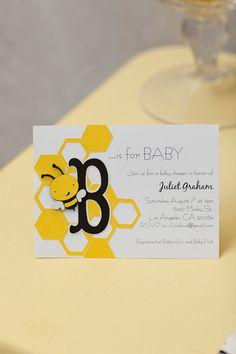 Sample Owl silhouette die cut baby shower invitation 9x6