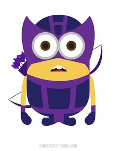 """Despicable Me"" Minions As Superheroes"