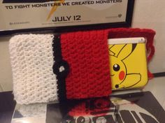 Pokeball inspired Cozy for a Nintendo 3DS