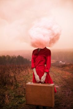 "Saatchi Art Artist Alicia Savage; Photography, ""Head in the Clouds 