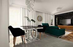Projekt Iness-szklany stół-zielonynarożnik-czarny marmur Dining Bench, Furniture, Home Decor, Decoration Home, Table Bench, Room Decor, Home Furnishings, Home Interior Design, Home Decoration