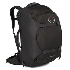 #Rucksack-Reisetasche Porter 65 bei Koffermarkt: ✓65 l ✓Farbe: schwarz ✓mit Laptopfach  ✓38 x 49 x 67 cm ✓viele Fächer  ⇒Jetzt kaufen