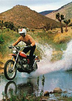 Vintage adventure Riding