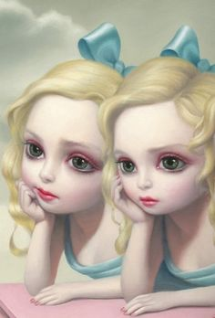 artist mark ryden art This style is really appealing to me. I am going to try the no ou. mark ryden art This style is really appealing to me. I am going to try the no out line look like this piece in my illustration. Mark Ryden, Arte Peculiar, Art Fantaisiste, Art Beat, Tim Walker, Lowbrow Art, Arte Pop, Whimsical Art, Surreal Art