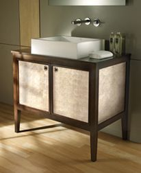 Bath Furniture - Sink Vanities and tub surrounds