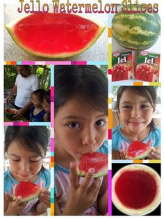 Super easy!Perfect summertime or anytime treat. Couldn't find watermelon gelatin so used strawberry and still delicious. My kids loved it.  Idea adapted from Laura's Blog...she's awesome! (Come Together Kids)