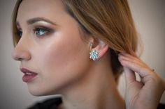 Set fulg de nea, din piulite Drop Earrings, Studio, Jewelry, Fashion, Moda, Jewlery, Bijoux, Fashion Styles, Schmuck