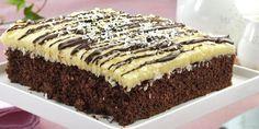 Bounty-ruter - Liker du Bounty, er dette kaken for deg. Cheesecake Trifle, Cake Recipes, Dessert Recipes, Norwegian Food, Cheat Meal, No Bake Desserts, Let Them Eat Cake, No Bake Cake, Pancake