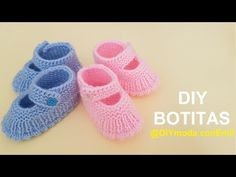 How to knit baby shoes Booties Crochet, Baby Slippers, Baby Socks, Baby Hats Knitting, Knitted Hats, Baby Patterns, Knitting Patterns, Baby Booties Free Pattern, Knit Baby Shoes