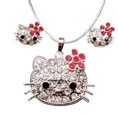 DianaL Boutique Kitty Cat Adorable Necklace and Earrings Set Great Gift for Girls Gift Boxed Fashion Jewelry    The Appeal of Cat Jewelry for Women    This is one of the most fun pieces of cat jewelry for women. You will appreciate this currently popular
