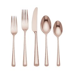 Marchesa by Lenox Imperial Caviar Rose Gold Flatware | Bloomingdale's