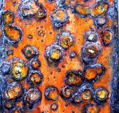 100 Captivating Examples of Urban Decay Photography Rust Macro at Filey by Tina Manthorpe. Urban Decay Photography, Abstract Photography, Rust Paint, Fotografia Macro, Peeling Paint, Nature Artwork, Rusty Metal, Color Shapes, Rust Color