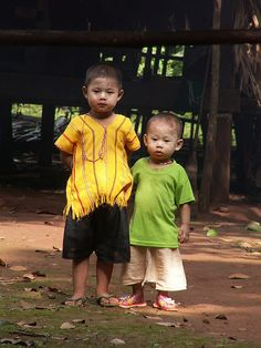 brothers in Myanmar