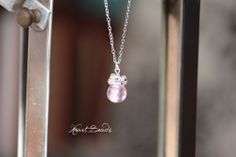 Cluster Necklace, Semi Precious Gemstones, Glass Beads, Drop, Pearls, Facebook, Crystals, Pink, Handmade