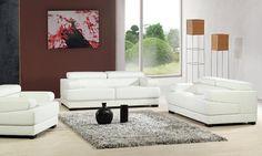 2013 New Design French 1 2 3 Modern Leather Sofa Set Classic White Leather China Sofa L9042