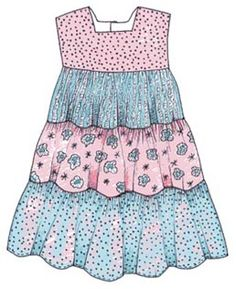"""Twirly Girl Hanna"" PDF pattern at the bottom of the website - several versions for sundresses"
