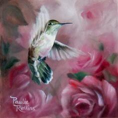 Hummingbird~ART BY PAULIE ROLLINS