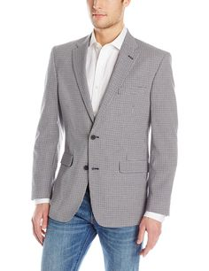 575a620715 Tommy Hilfiger Men s Gibbs Checked Sport Coat at Amazon Men s Clothing store